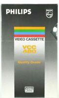 Cassetta Video Cassette Vergine nuova Philips Video 2000 VCC 480  8 ore