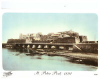 St. Peter Port, 1892, Guernsey, Channel Islands Rare Picture Postcard