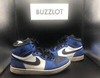 Nike Air Jordan 1 Retro OG High Rare Air Soar Blue White Black Sz 13 332550-400