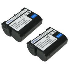 2x AKKU Bundle für Nikon D-600 passend für Batteriegriff MBD-11 MBD-12