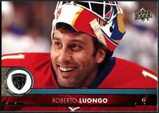 Roberto Luongo Florida Panthers#85 Upper Deck 2017-18 Series 1 Hockey Card C2442