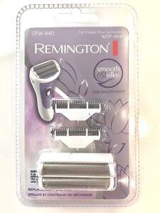 GENUINE Remington Foil & Cutter Set SPW-440 Smooth & Silky Shaver  WDF4840 UK!