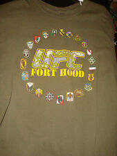 Awesome UFC Fort Hood 2011 T-Shirt, Size Large, Great Condition! MMA Troops