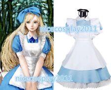 20% OFF SALE Alice in Wonderland Alice maid dress Cosplay Costume Female's dress