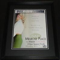 Melrose Place 1997 Framed 11x14 ORIGINAL Vintage Advertisement Heather Locklear