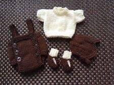 Hand Knitted Dolls tenue 10-11 in Reborn