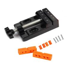 Mini Carving Vise for Drill Press/Carving Clamp Parallel-jaw Vice for DIY Crafts
