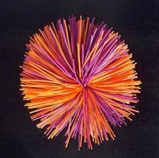 10 cm Koosh bola de estrés estilo ~ púrpura y naranja ~ sensorial, autismo, Táctil, ADHD