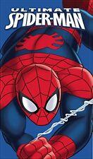Marvel Ultimate Spiderman Cotton Beach Bath Towel Boys Kids Swimming Holiday
