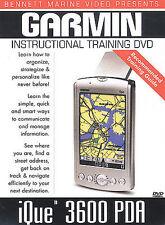 Garmin Ique 3600 PDA GPS Instructional T DVD