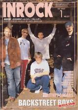 InRock Japan Jan/02 Backstreet Boys on Cover Britney Spears Muse No Doubt Kid Ro