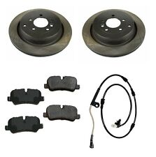 For Land Rover LR3 LR4 Range Rover Sport Rear Brake Pads Rotors Sensor Kit