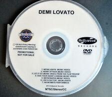 Demi Lovato DVD music videos & LIVE  neon lights, heart attack, skyscraper