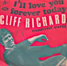 ++CLIFF RICHARD i'll love you forever today/wonderful world SP COLUMBIA VG++