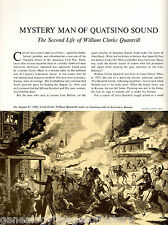 Mystery Man Of Quatsino Sound - William Clarke Quantril