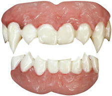 Tinsley Transfers Vampire 2pc False Teeth FX, White Pink