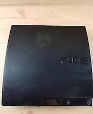 Sony PlayStation 3 PS3 Slim 120GB Black Console ONLY!!!! CECH-2001A