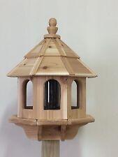 Large Cedar Gazebo Bird Feeder