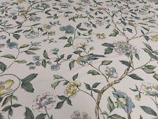 Sanderson Sissinghurst Jade/Silver Curtain Craft Fabric 1.8 Metres