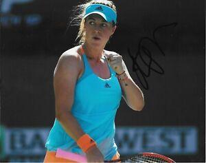 Autographed Anastasia Pavlyuchenkova Tennis 8x10 Photo #5 Original