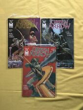 Run Lot of 3 Green Arrow (1987 1st Series) #1 2 3 VF Very Fine