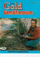 Australian Gold Gem & Treasure Magazines 1990  FREEPOST 8 available