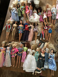 LOT of 29 Mattel Barbie And Friends Dolls 1980s 1990s