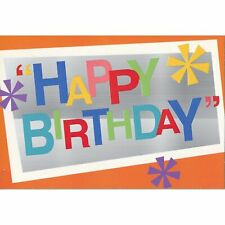 Hallmark Birthday Card: Happy Birthday...That's What You're Wished Today!