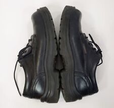 Red Wing Shoes Men's 8 D King Toe Oxford #6633 Black Steel Toe Lace Up Safety