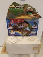 Tracy Island Electronic Playset Rocket Sounds & Voices With Both Box's