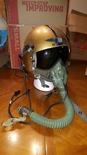 Original USN APH-5 jet pilot helmet complete with MS22001 mask