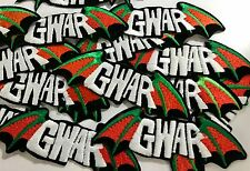 Wholesale Lot 15 GWAR Embroidered Cloth Band Patches Sew-On/Iron-On