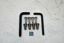 Security Theft Deterrent Screws for MERCEDES FRONT & REAR License Plate (8 pcs)
