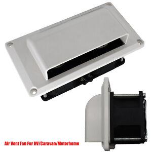 For Caravan Motorhome RV Side Air Vent Exhaust Fan Blower Ventilation Cooling