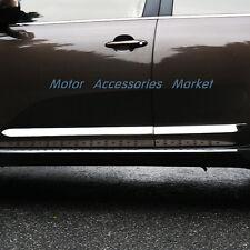 New Chrome Body Molding Door Trim For KIA Sportage 2011 2012 2013 2014 2015