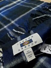 Nwt pure CASHMERE SCARf by Joseph Abboud 12 by 60 inches $120