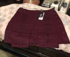 Adidas x IVY PARK Skirt, New - Maroon, Medium