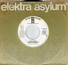 GLENN FREY  I Found Somebody rare promo 45 from 1982  THE EAGLES
