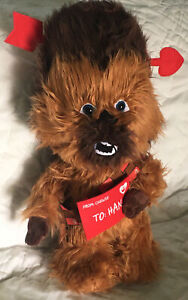 Valentine's Day Disney Star Wars 21 in Tall Chewbacca as Cupid Porch Greeter