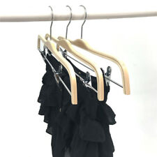 KOOBAY Clothes Hangers 20Pcs Zara Style Boutique Trousers Wooden Coat Laminated