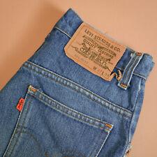 Levi 631 Jeans Straight Leg Zip Fly Blue Vintage Women's (LabelW27L34) W 26 L 31