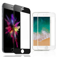 Apple iPhone 8 7 Plus iPhone X 3D Tempered Glass Full Cover Screen Protector