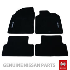 Nissan Qashqai Genuine Car Floor Mats Tailored Velour Luxury X4 KE755JD011