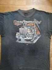 3D Emblem Truckers Only Vintage Gearjammin' Gear Jamming Single Stitch Black Siz