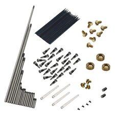 92pzs/juegoPzs de reparacion de saxofon Saxo Alto Tornillos+Kit de resortes d Q7