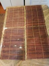 Twig Placemats Set Of 4 Coco Wood. Each 14 x 20 awesome!!