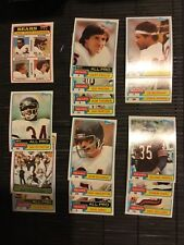 1981 Topps Team Set Chicago Bears Walter Payton 3 cards Alan Page Hall of Fame