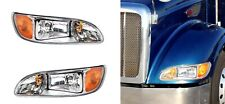 Pair of Headlights for Peterbilt 382, 384, 386, 387 (Driver & Passenger Set)