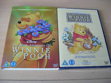 Many Adventures Of Winnie The Pooh DVD 22 & LIMITED EDITION O RING COVER SLEEVE