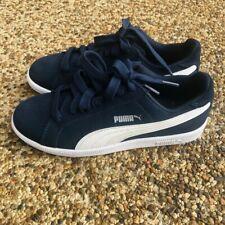 Puma Boys' Smash Suede Sneakers  - Navy size: US 4